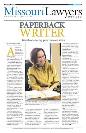 Missouri Lawyers Weekly featuring Janna MacGregor