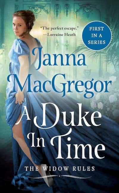 Book cover for The Duke in Time by Janna MacGregor
