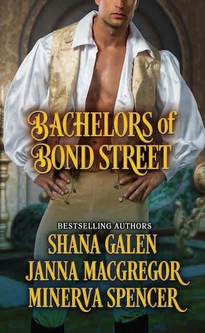 Book cover for Bachelors of Bond Street Anthology by Author Janna MacGregor